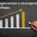Поведенческие и коммерческие факторы