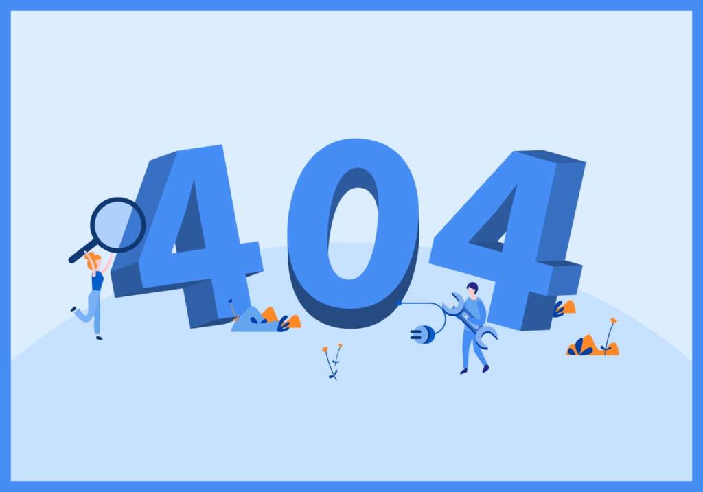 Страница 404 для сайта